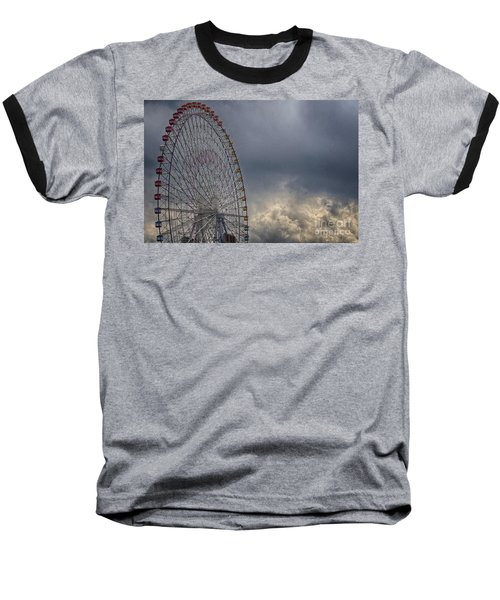 Ferris Wheel Baseball T-Shirt