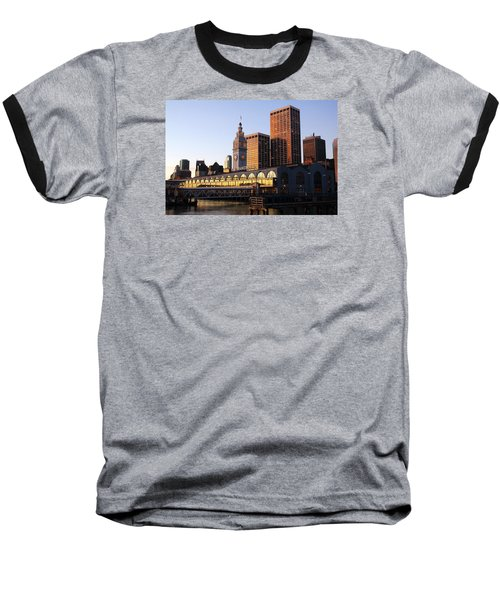Ferry Building And San Francisco Baseball T-Shirt
