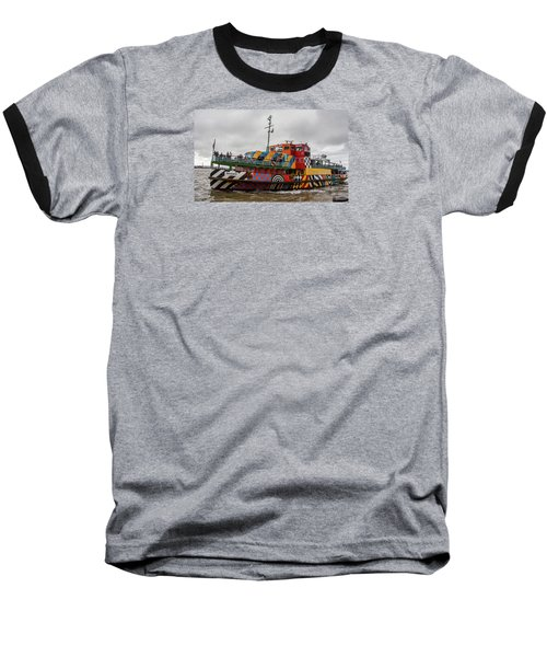 Ferry Cross The Mersey - Razzle Boat Snowdrop Baseball T-Shirt