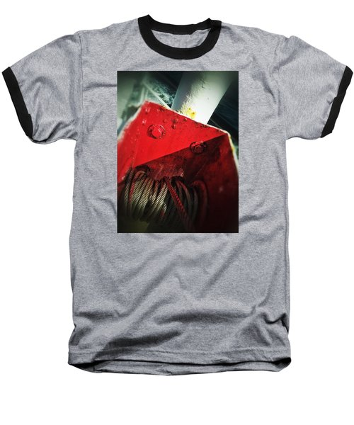 Baseball T-Shirt featuring the photograph Ferry Hardware by Olivier Calas