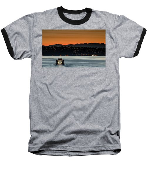 Ferry Sealth At Dawn Baseball T-Shirt