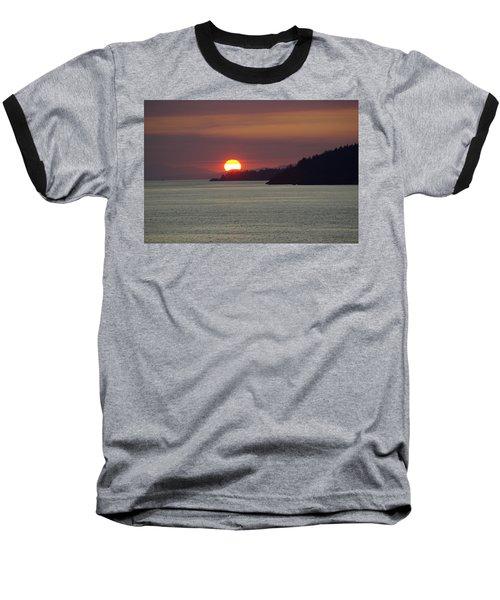 Ferry Sunset Baseball T-Shirt
