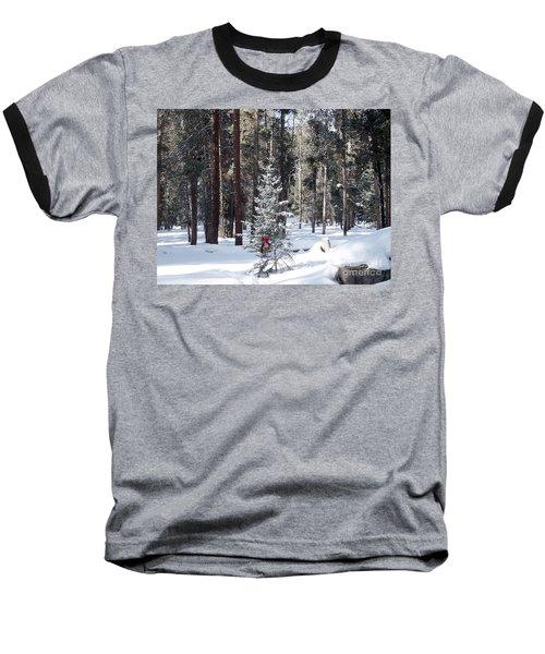 Festive Forest Baseball T-Shirt