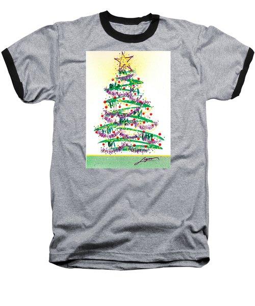 Festive Holiday Baseball T-Shirt