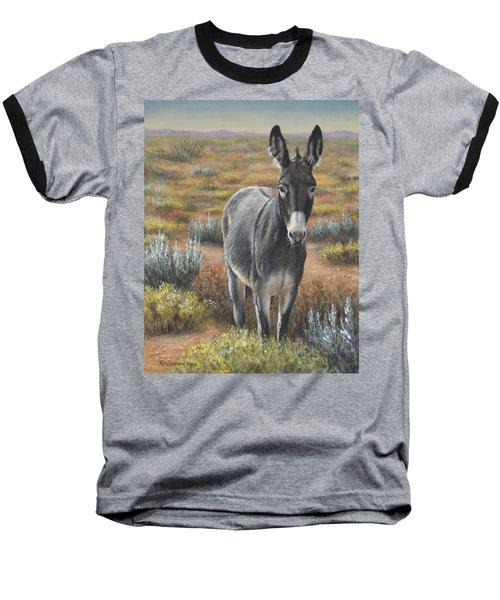 Baseball T-Shirt featuring the painting Festus by Kim Lockman