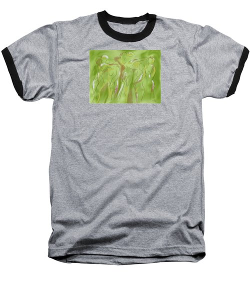 Few Figures Baseball T-Shirt by Mary Armstrong