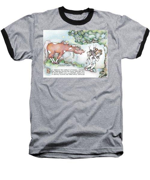 Fickle Creatures Foto Baseball T-Shirt