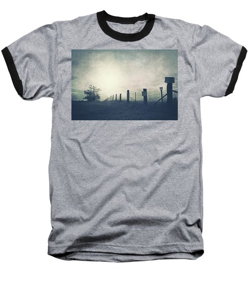 Field Beyond The Fence Baseball T-Shirt