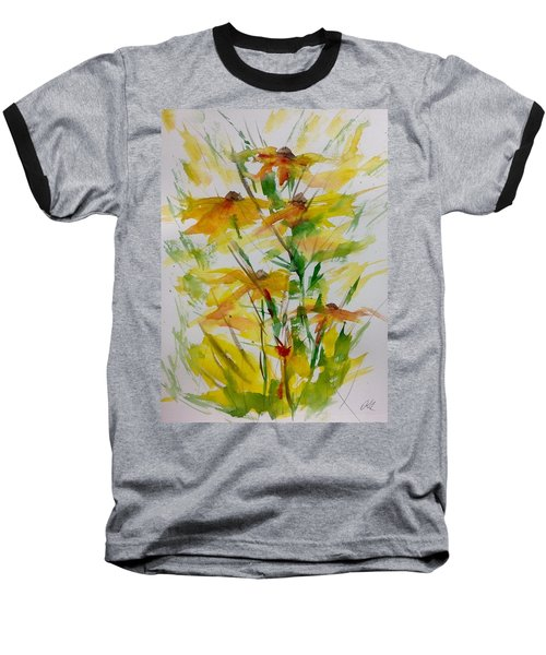 Field Bouquet Baseball T-Shirt