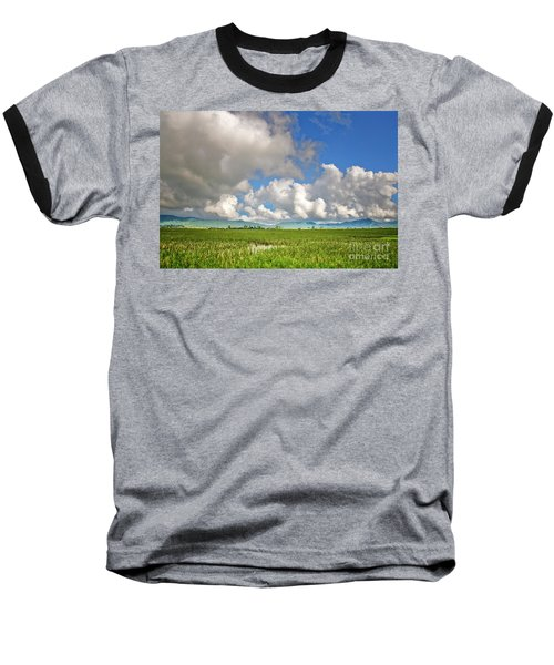 Baseball T-Shirt featuring the photograph Field by Charuhas Images