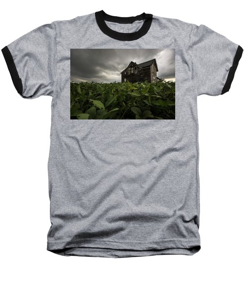 Baseball T-Shirt featuring the photograph Field Of Beans/dreams by Aaron J Groen