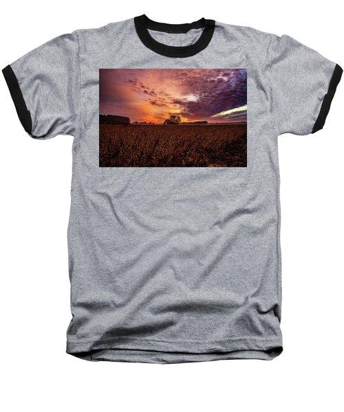 Field Of Beans Baseball T-Shirt