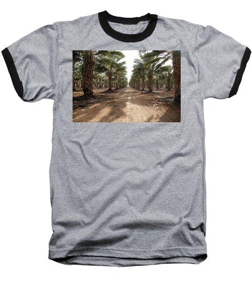 Date Grove #3 Baseball T-Shirt by Yoel Koskas