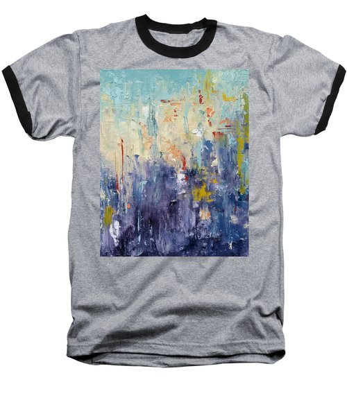 Baseball T-Shirt featuring the painting Field Of Dreams by Patti Ferron