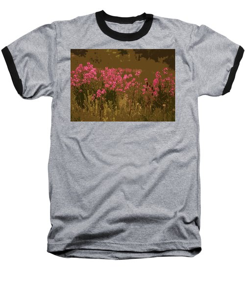 Baseball T-Shirt featuring the photograph Field Of Flowers by Rowana Ray