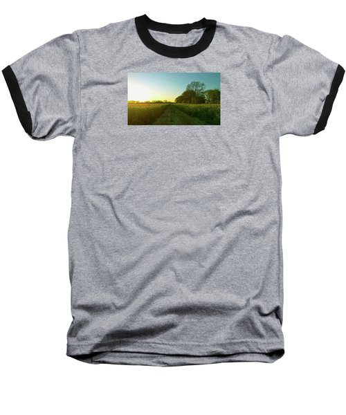 Baseball T-Shirt featuring the photograph Field Of Gold by Anne Kotan