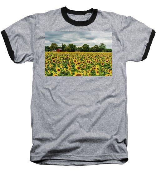 Field Of Sunshine Baseball T-Shirt