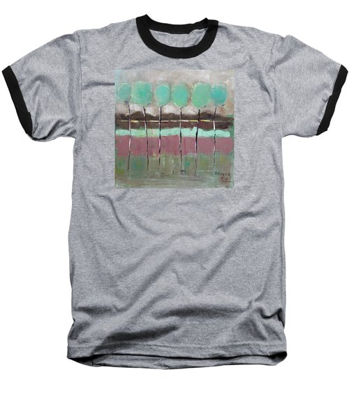 Going Out Baseball T-Shirt by Becky Kim