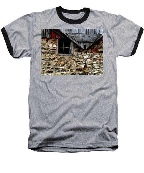 Field Stone Barn Baseball T-Shirt