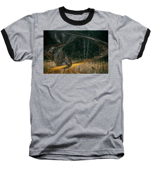 Field Warping Baseball T-Shirt