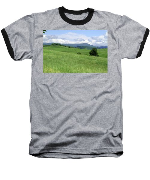 Baseball T-Shirt featuring the photograph Fields And Hills  by Emanuel Tanjala