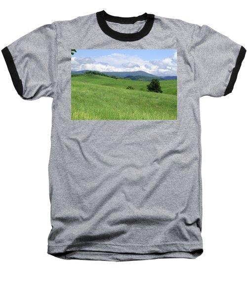 Fields And Hills  Baseball T-Shirt