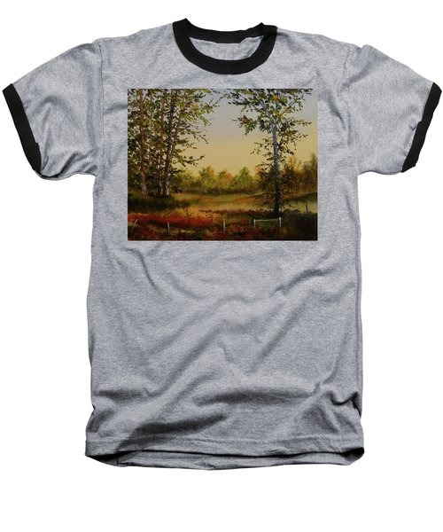 Fields And Trees Baseball T-Shirt