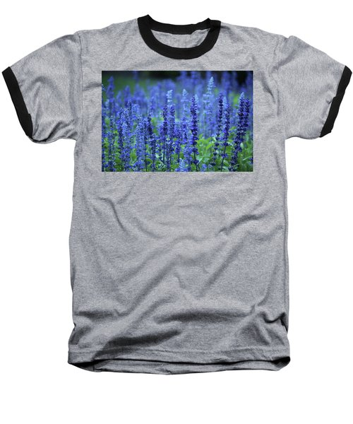 Baseball T-Shirt featuring the photograph Fields Of Blue by Rowana Ray