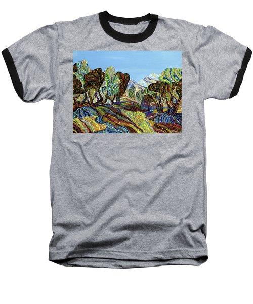 Fields Of Gold  Baseball T-Shirt by Erika Pochybova