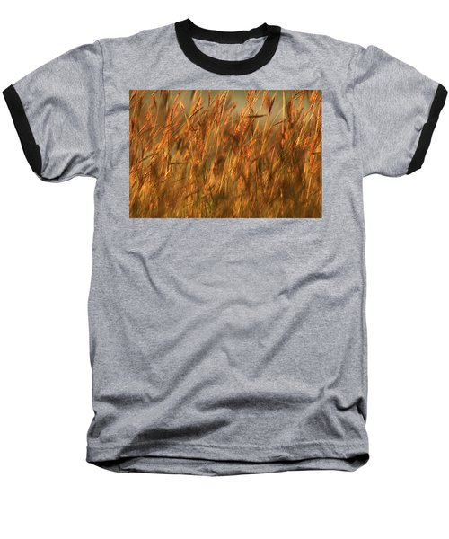 Baseball T-Shirt featuring the photograph Fields Of Golden Grains by Emanuel Tanjala