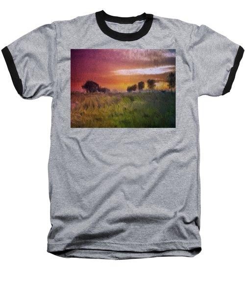 Fields Of Green Baseball T-Shirt