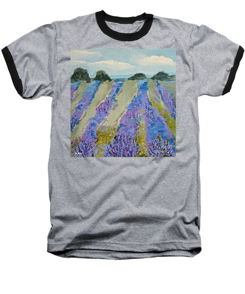 Fields Of Lavender Baseball T-Shirt