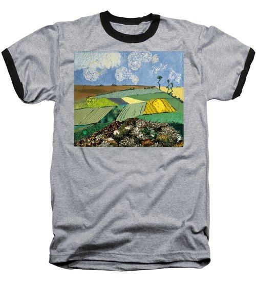 Fields To Gogh Baseball T-Shirt