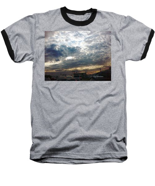 Fierce Skies Baseball T-Shirt