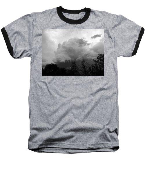 Fierce  Baseball T-Shirt by Teresa Schomig