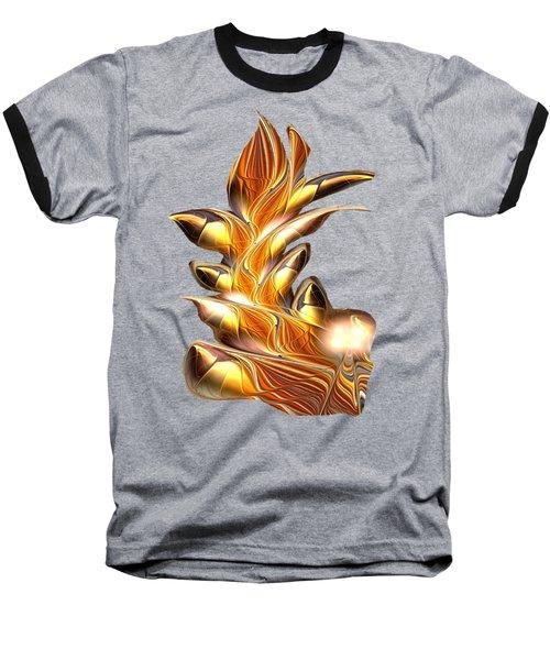 Fiery Claws Baseball T-Shirt