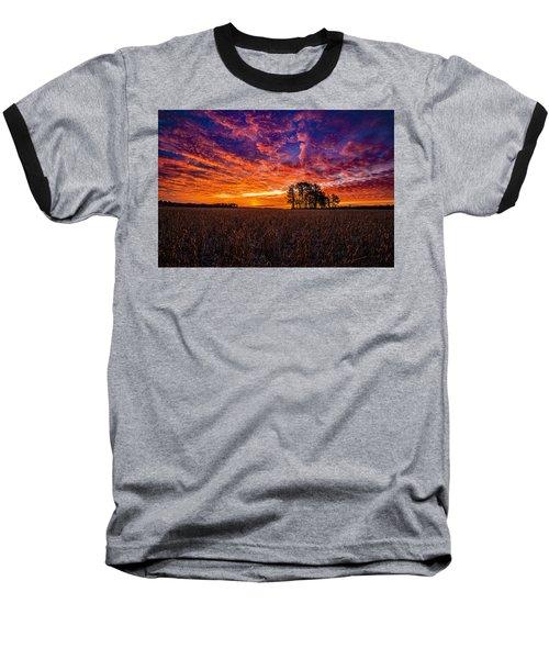 Fiery Dawn At Center Grove Baseball T-Shirt