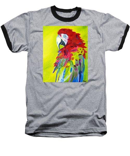 Fiery Feathers Baseball T-Shirt by Meryl Goudey
