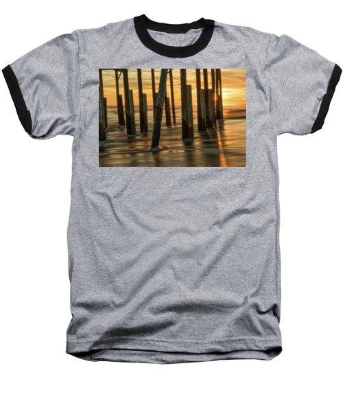 Fiery Kiss Baseball T-Shirt