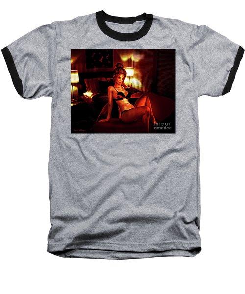 Fiery Nights Baseball T-Shirt