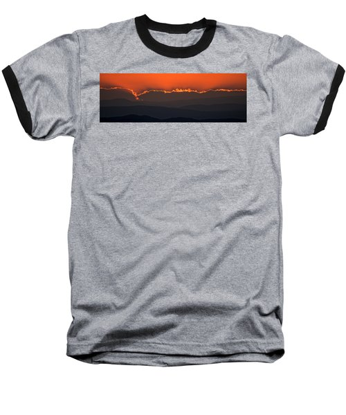 Fiery Sunset In The Luberon Baseball T-Shirt