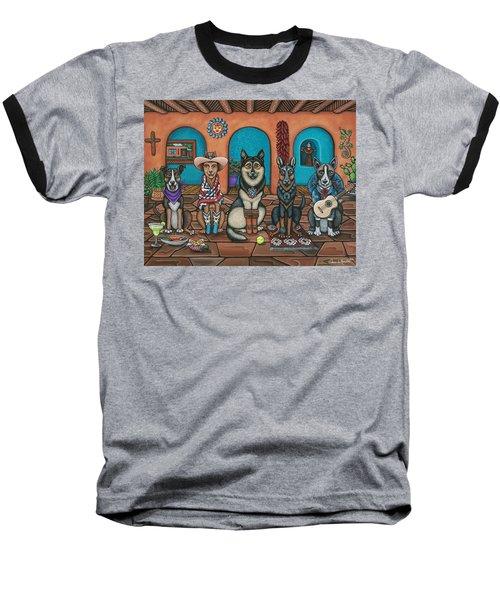 Fiesta Dogs Baseball T-Shirt