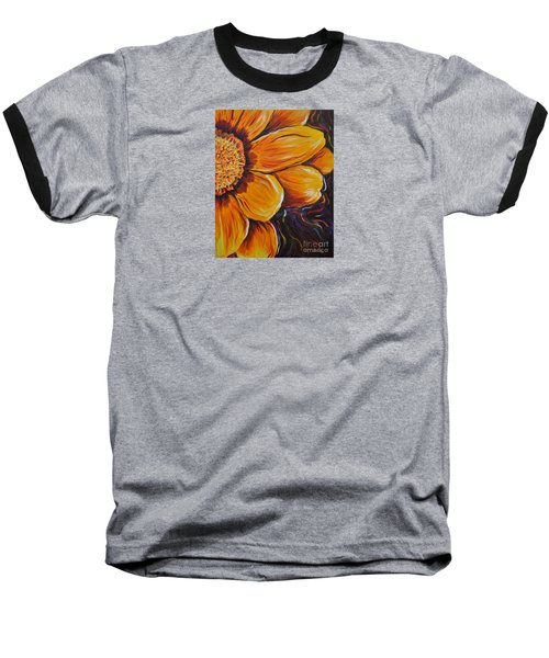 Baseball T-Shirt featuring the painting Fiesta Of Courage by Lisa Fiedler Jaworski