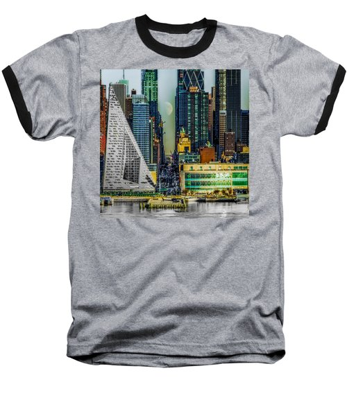 Baseball T-Shirt featuring the photograph Fifty-seventh Street Fantasy by Chris Lord