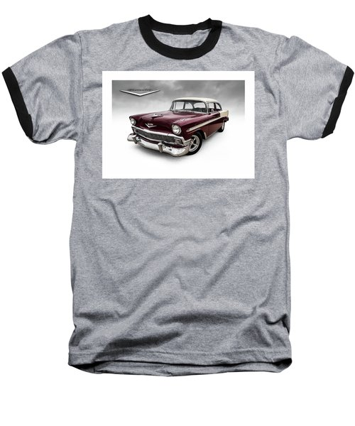 Fifty-six Chevy Baseball T-Shirt