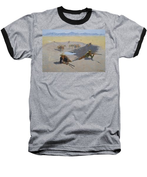 Fight For The Waterhole Baseball T-Shirt