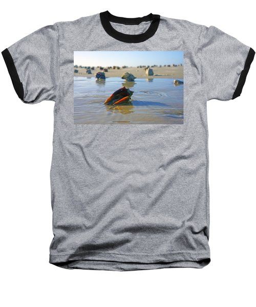 Fighting Conchs On The Sandbar Baseball T-Shirt