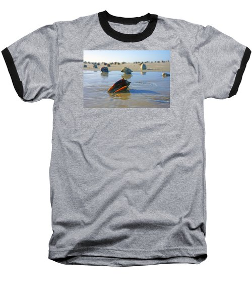 Fighting Conchs On The Sandbar Baseball T-Shirt