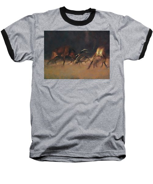 Fighting Stags I. Baseball T-Shirt
