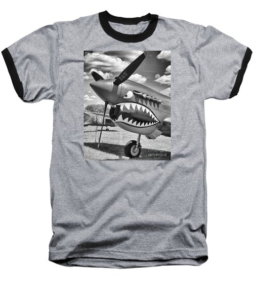 Baseball T-Shirt featuring the photograph Fighting Tiger by Ricky L Jones